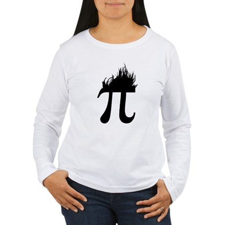 Hair Pi Womens Long Sleeve T-Shirt