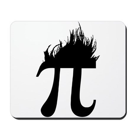 Hair Pi Mousepad
