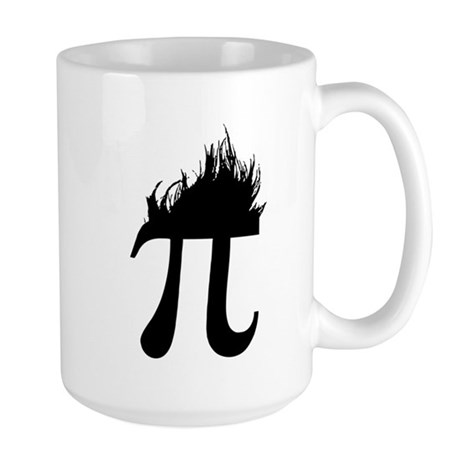 Hair Pi Large Mug