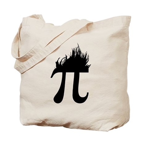 Hair Pi Tote Bag
