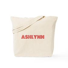 Retro Ashlynn (Red) Tote Bag