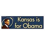 Kansas is for Obama bumper sticker
