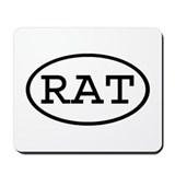 RAT Oval Mousepad