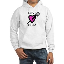 Unique Love sucks skull Hoodie