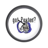 Got Peyton Fantasy Football L Wall Clock