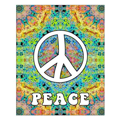 Groovy Peace Small Poster