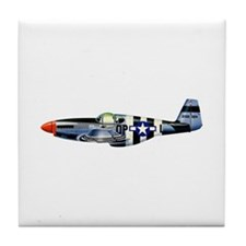 P-51 Tile Coaster