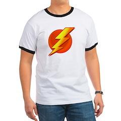 Superhero Ringer T