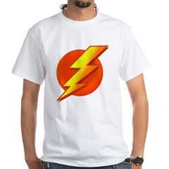 Superhero White T-Shirt