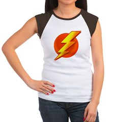 Superhero Women's Cap Sleeve T-Shirt