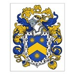 Powell Family Crest Small Poster