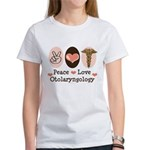 Peace Love Otolaryngology ENT Women's T-Shirt