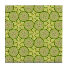Cucumber 5 Tile Coaster