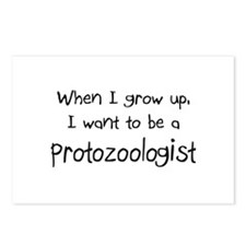 When I grow up I want to be a Protozoologist Postc