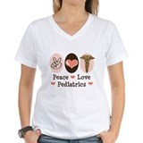 Peace Love Pediatrics Shirt