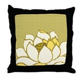 Lotus Flower Hasu Throw Pillow