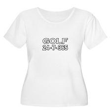 """""""Golf 24-7-365"""" T-Shirt"""