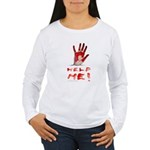 HELP ME Women's Long Sleeve T-Shirt