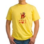 HELP ME Yellow T-Shirt