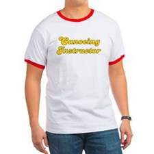 Retro Canoeing In.. (Gold) T