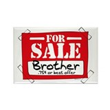 Brother For Sale Rectangle Magnet