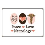 Peace Love Neurology Banner