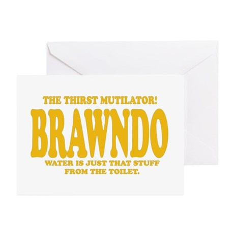 Brawndo Greeting Cards (Pk of 10)