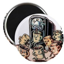 "Coffee Office 2.25"" Magnet (10 pack)"