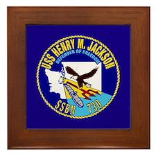 USS Henry M Jackson SSBN-730 Framed Tile