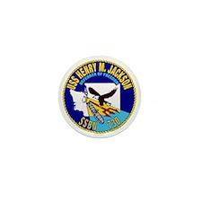 USS Henry M Jackson SSBN-730 Mini Button (100 pack