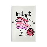 Knit Wit Rectangle Magnet (10 pack)