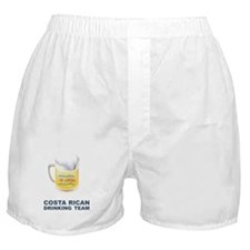 Costa Rican Drinking Team Boxer Shorts