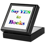 Yes to Books Keepsake Box