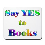 Yes to Books Mousepad