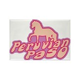 Peruvian Paso Rectangle Magnet