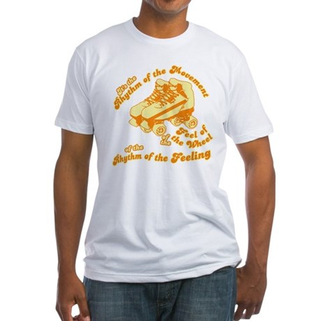The Rhythm of the Movement Fitted T-Shirt