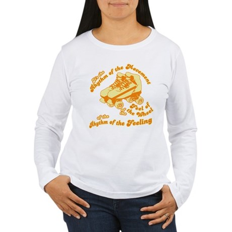 The Rhythm of the Movement Womens Long Sleeve T-S