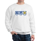 Eat Sleep Carcassonne  Sweatshirt