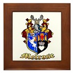 Melrose Elk Camp Framed Tile