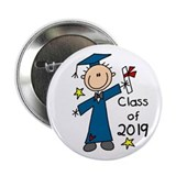 "Boy Graduate 2013 2.25"" Button (100 pack)"