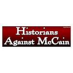 Historians Against McCain bumper sticker
