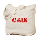 Retro Cale (Red) Tote Bag