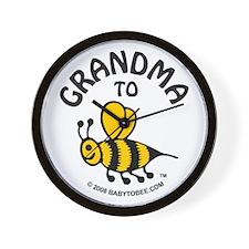 Unique Expecting grandma Wall Clock