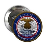 "USS John C. Stennis CVN-74 2.25"" Button (100 pack)"