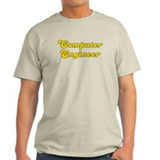 Retro Computer en.. (Gold) T-Shirt