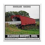 Hogback Bridge Tile Coaster