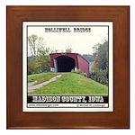 Holliwell Bridge Framed Tile
