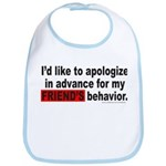 I'D LIKE TO APOLOGIZE Bib