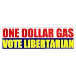 Rylla's Dollar Gas Bumper Sticker (10 pk)