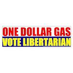 Rylla's Dollar Gas Bumper Sticker